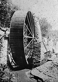 Cane Creek wheel period photograph
