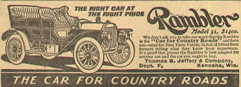 Antique Rambler advertisement